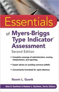 Myers- Briggs Type Indicator Assessment