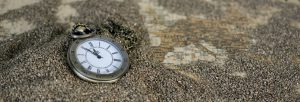 Watch on a beach to show how precious time is.
